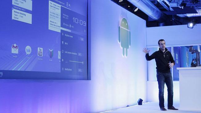 Google presenta su versión de Android 3.0 para las tablets