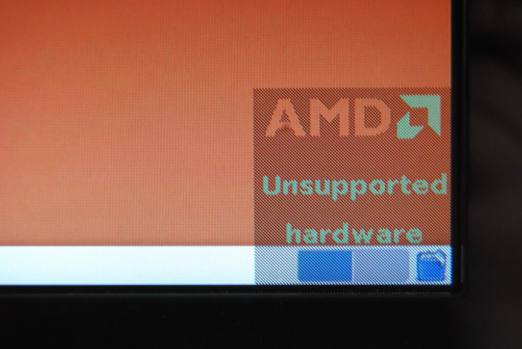 Quitar la marca de agua AMD Unsupported en Ubuntu 13